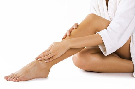 Hladké ženské nohy