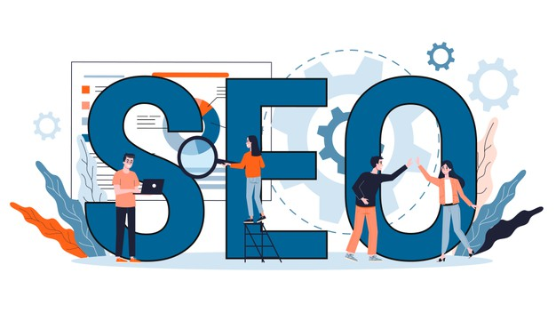 seo-concept-idea-search-engine-optimization-website-as-marketing-strategy-web-page-promotion-internet-illustration-cartoon-style_277904-4151